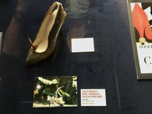 Mackeral Shoe (soulier Maqureau) one of his first