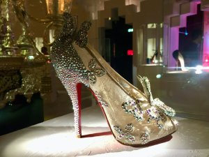 Cinderella shoe made in collaboration with Disney