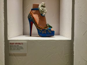 A sample of the Marie Antoinette shoe