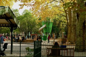 Playground at Luxembourg Gardens