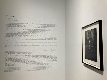 Story of Herbert List Exhibit Galerie Karsten Greve Rue Debelleyme Paris
