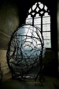 La Dormeuse (The Sleeper) Wood Sculpture Paul Walker Hamy Eglise Saint-Merry
