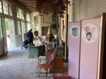 Interior of Orangerie Hôtel de Sully Marais