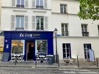 le Coq Poultry House facade restaurant Montmartre