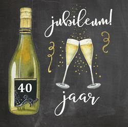 Spiksplinternieuw Collega 40 jaar in dienst teksten   40 jaar jubileum felicitaties! OM-34