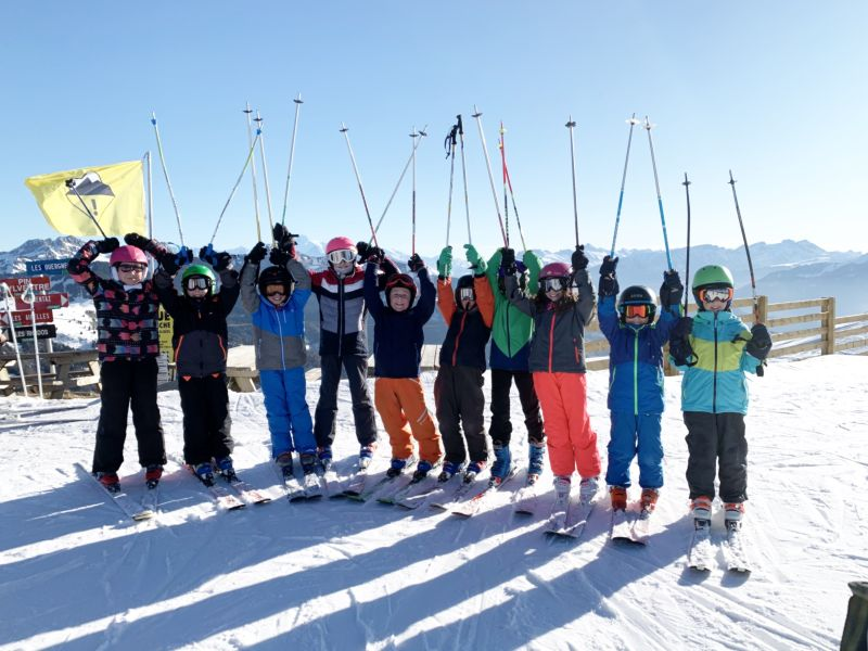 Les primaires font du ski !
