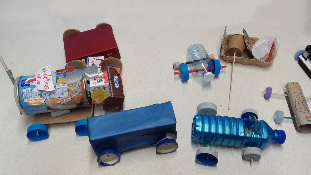 Les petits jouets recyclés