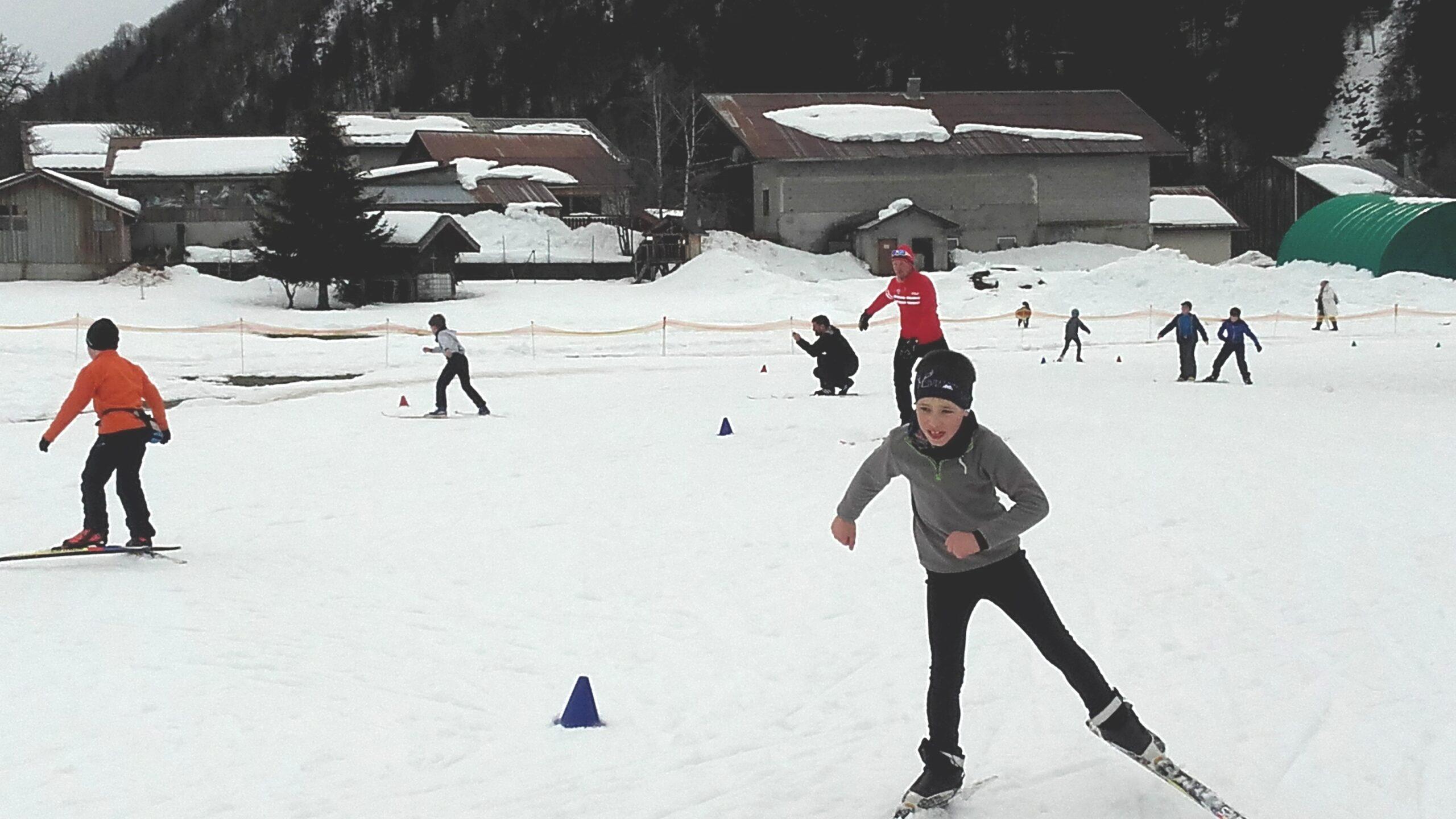 L'activité ski de fond