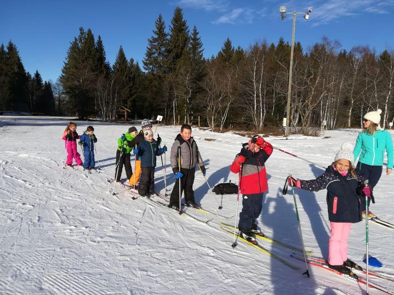 Ski de fond pour les CP-CE1