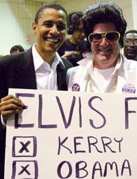 Obama & Elvis