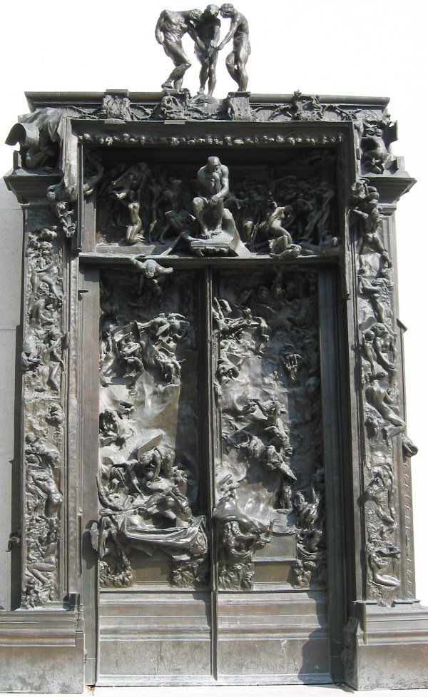 Gates Of Hell Auguste Rodin 1880-1917 Core