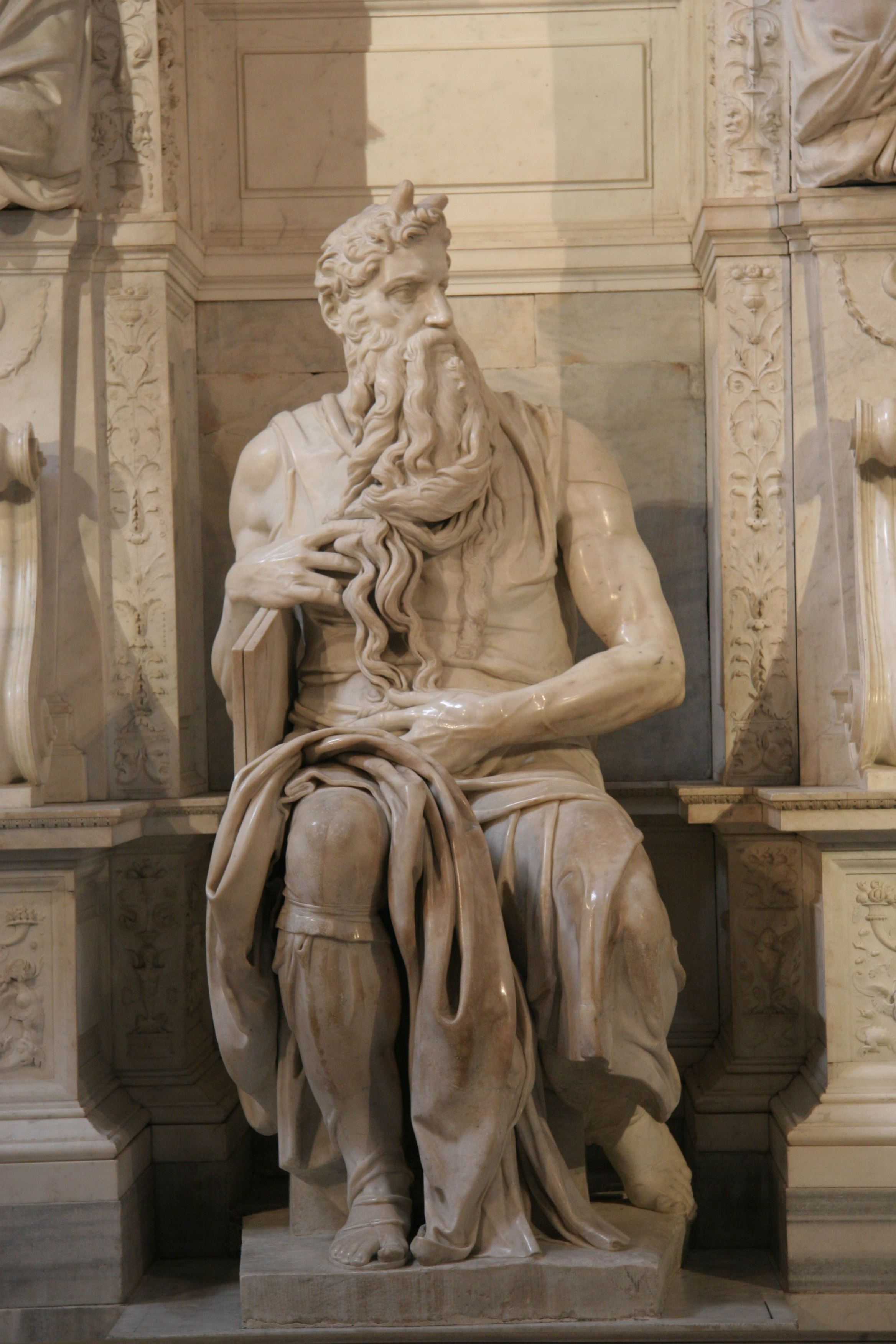 Moses by Michelangelo 151315  The Core Curriculum