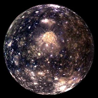 Калісто, супутник Юпітера