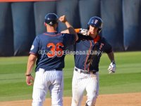 Michael Lorenzen hit one of Fullerton's four HRs.