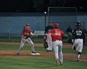 Kevin Roundtree calms down Brandon Garcia