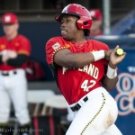 Marty Costes hit 2 home runs including a 2 run shot in the 1st inning. Photo by David Cohen, BHEphotos