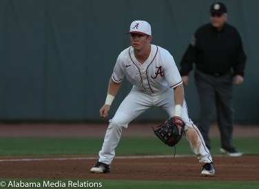 Alabama's Connor Short (11) Photo by Paulo Viteri 03-17-17 MBA vs Missouri