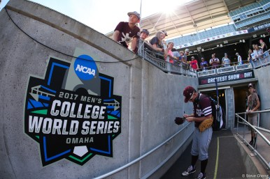 2017 College World Series: TCU eliminates Texas A&M 4-1.