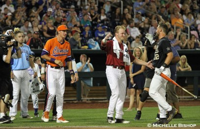 The eighth annual College Home Run Derby was held Saturday, July 1, 2017 at TD Ameritrade Park in Omaha. (Photo by Michelle Bishop)
