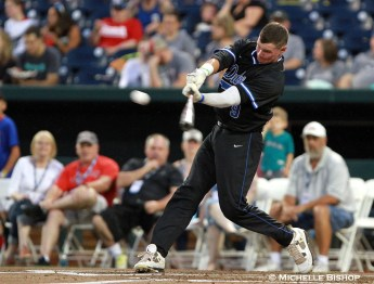 Duke's Griffin Conine. The eighth annual College Home Run Derby was held Saturday, July 1, 2017 at TD Ameritrade Park in Omaha. (Photo by Michelle Bishop)