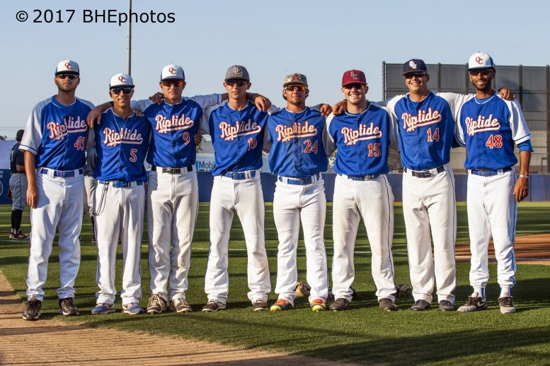 The Orange County Riptide lead the CCL South All Stars over the North 8-4 - Photo By David Cohen, BHEphotos