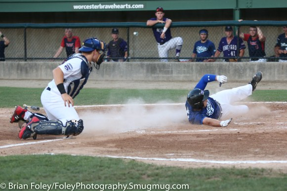 7/11/17, Hanover Insurance Park at Fitton Field Worcester, MA: during the USA Collegiate Team's 6-4 victory over the Futures League Prospects Team at Hanover Insurance Park at Fitton Field.
