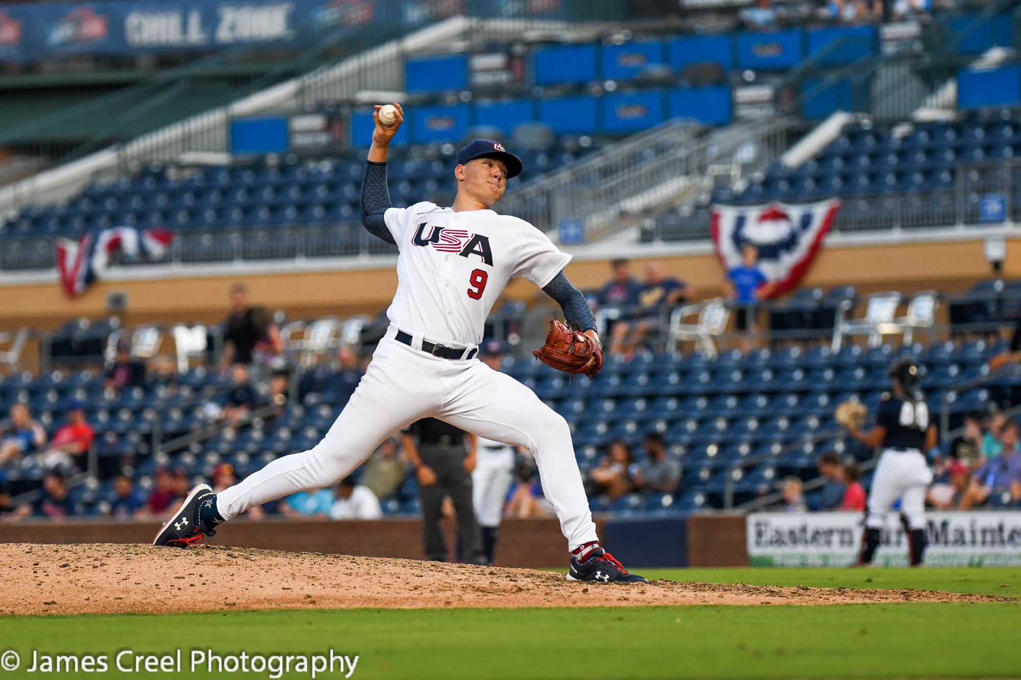 USA Baseball cliches Chinese Taipei Series with Two Wins