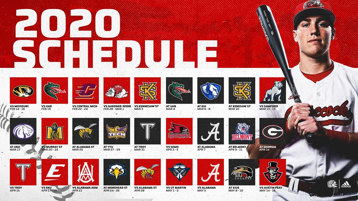 Jacksonville State releases 2020 Schedule