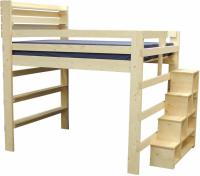 Loft Bed With Steps And Desk - Hostgarcia