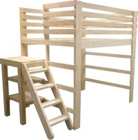 Platform Loft Bed  acidproof