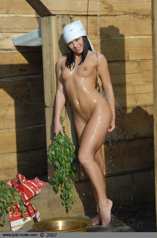 girls showering outdoors (ccc) 24