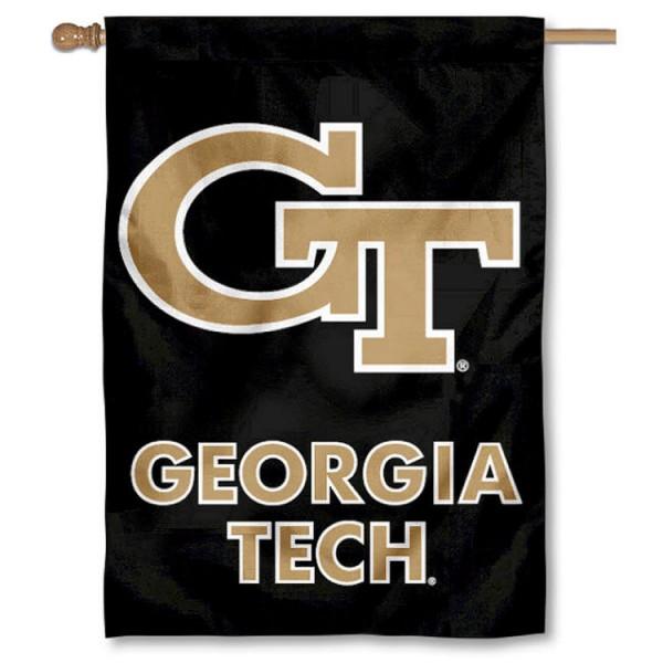 Georgia Tech House Flag your Georgia Tech House Flag flag