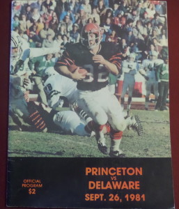 The Tigers could hold their own against the Big D of the Ivy League, Dartmouth, but it was a different story a year later against UD, Delaware.