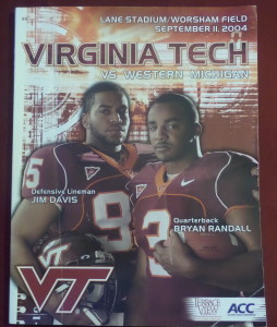 The Hokies had too horses for the Broncos to handle in the season opener for both in 2004.