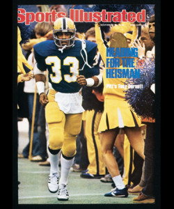 We watched Tony Dorsett play against Navy as a sophomore in 1974 two years before he set the D1 career rushing mark against the Mids.