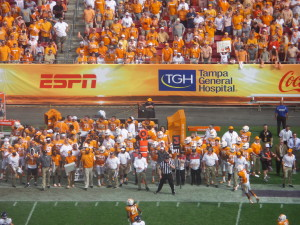 I'm sorry, but too much Tennessee orange just hurts my eyes.