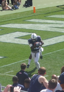 WR Chris Godwin keeps his feet inbounds for the completion.