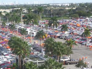January tailgating in Tampa is like tailgating in the northeast in December - without the Palm trees. Love to get back there this year for the CFP championship.