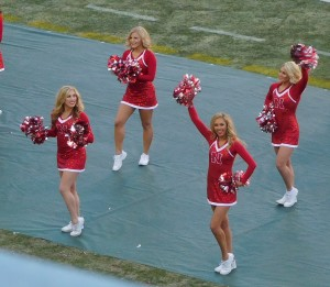 Don't worry! Collegefootballfan.com will keep coming back for teh cheerleaders!