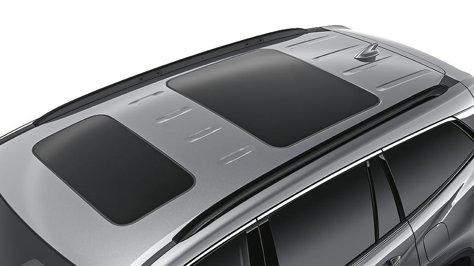 1 of 93 front seat. 2016-2020 Honda Pilot Gloss Black Roof Rails - 08L02-TG7-100A