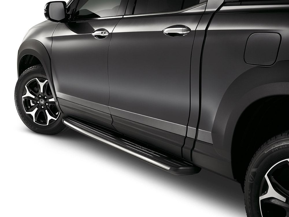 How do they stack up? 2017-2019 Honda Ridgeline Chrome Running Boards - 08L33