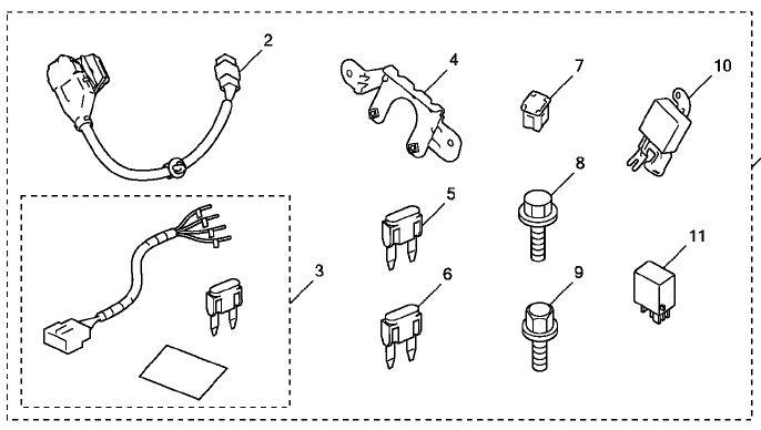trailer wiring harness for 2009 honda odyssey