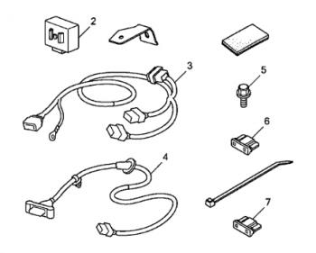 2011 Honda Pilot Trailer Wiring Harness Utility Trailer