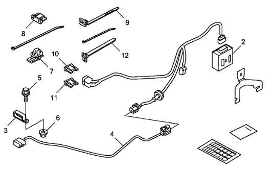2015 honda fit trailer wiring