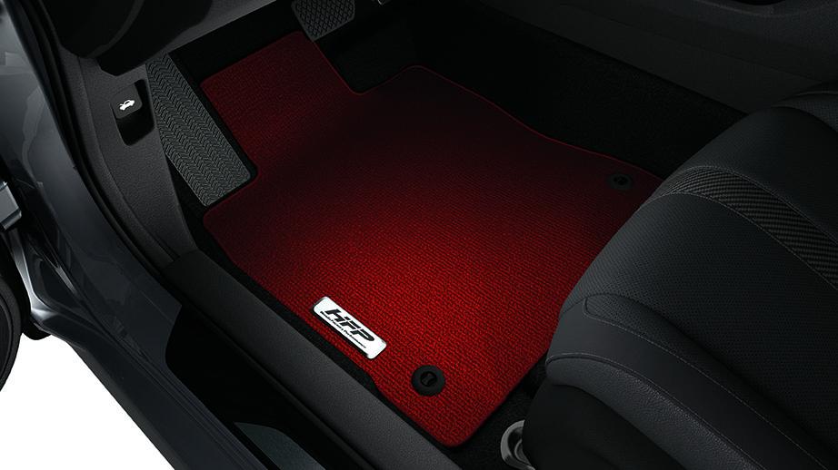 2017 2019 Honda Civic Sport Hatchback Red HFP Floor Mats