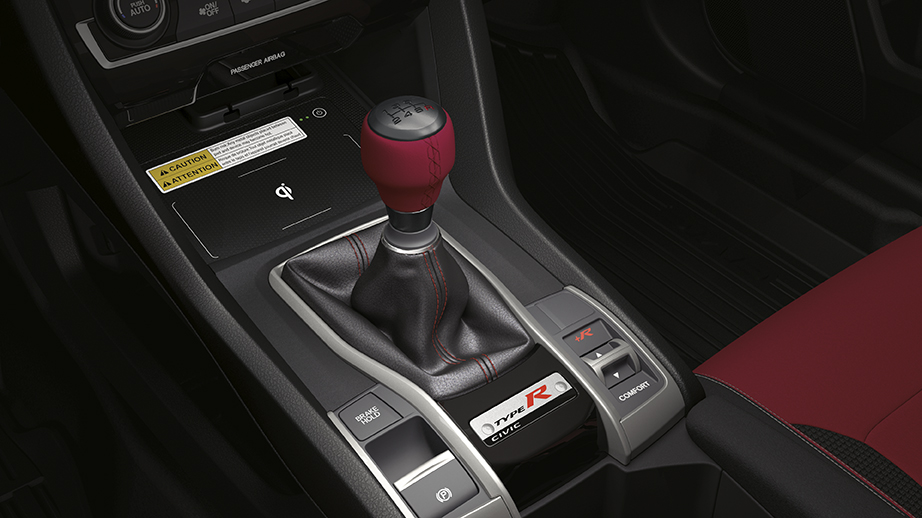 2017 2019 Civic Type R Shift Knob 08U92 TEA 110