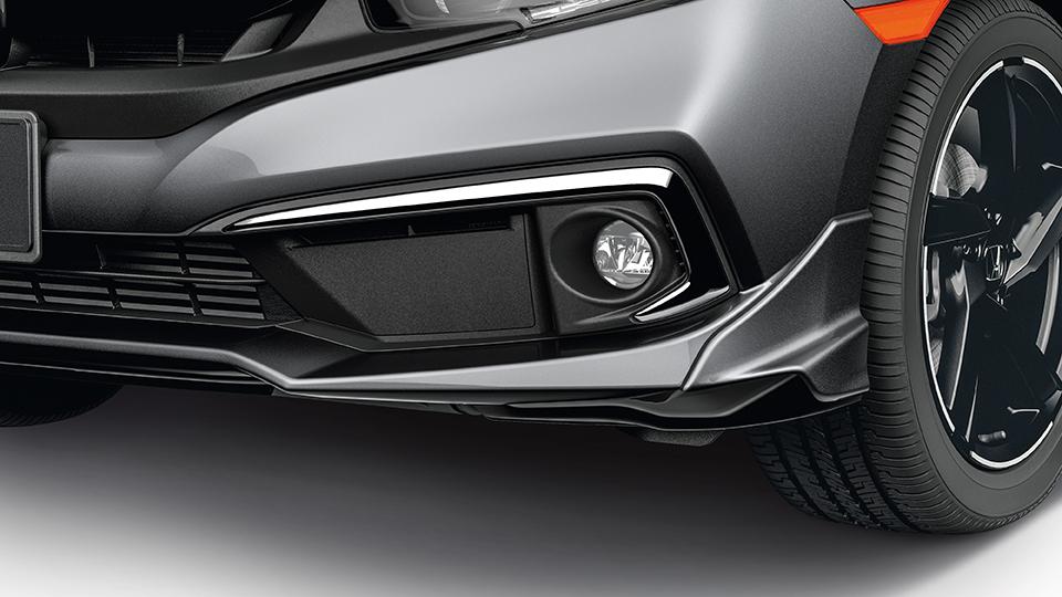 Hybrid touring shown in modern steel metallic. 2019-2020 Honda Civic LED Fog Lights - 08V31-TBA-100H