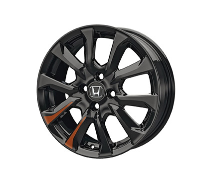 2015 2019 Honda Fit 16 Black Alloy Wheels Each 08W16
