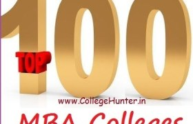 Top 100 MBA Colleges in India
