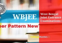 WBJEE Paper pattern New